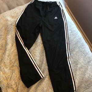 Track and field adidas joggers